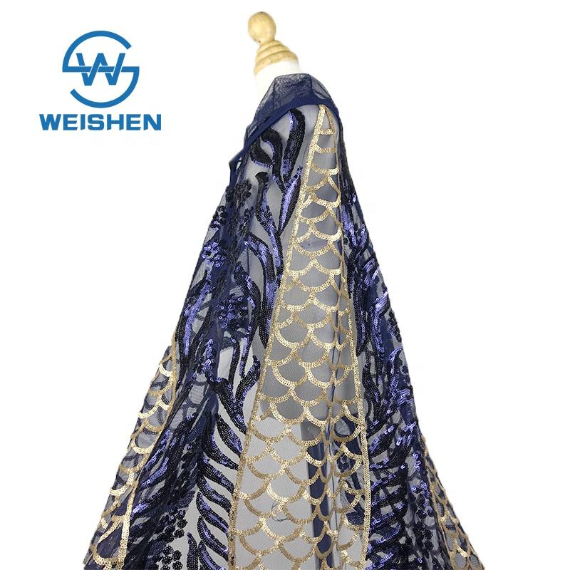 dec2696c01 Bordado de encaje neto de venta al por mayor de la India en línea falda tela