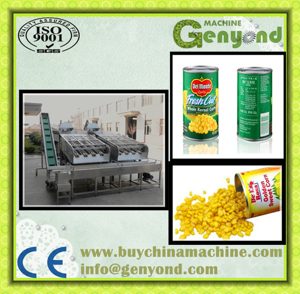 automatic China Highly effective Sweet Corn Cutter Processing/produce line