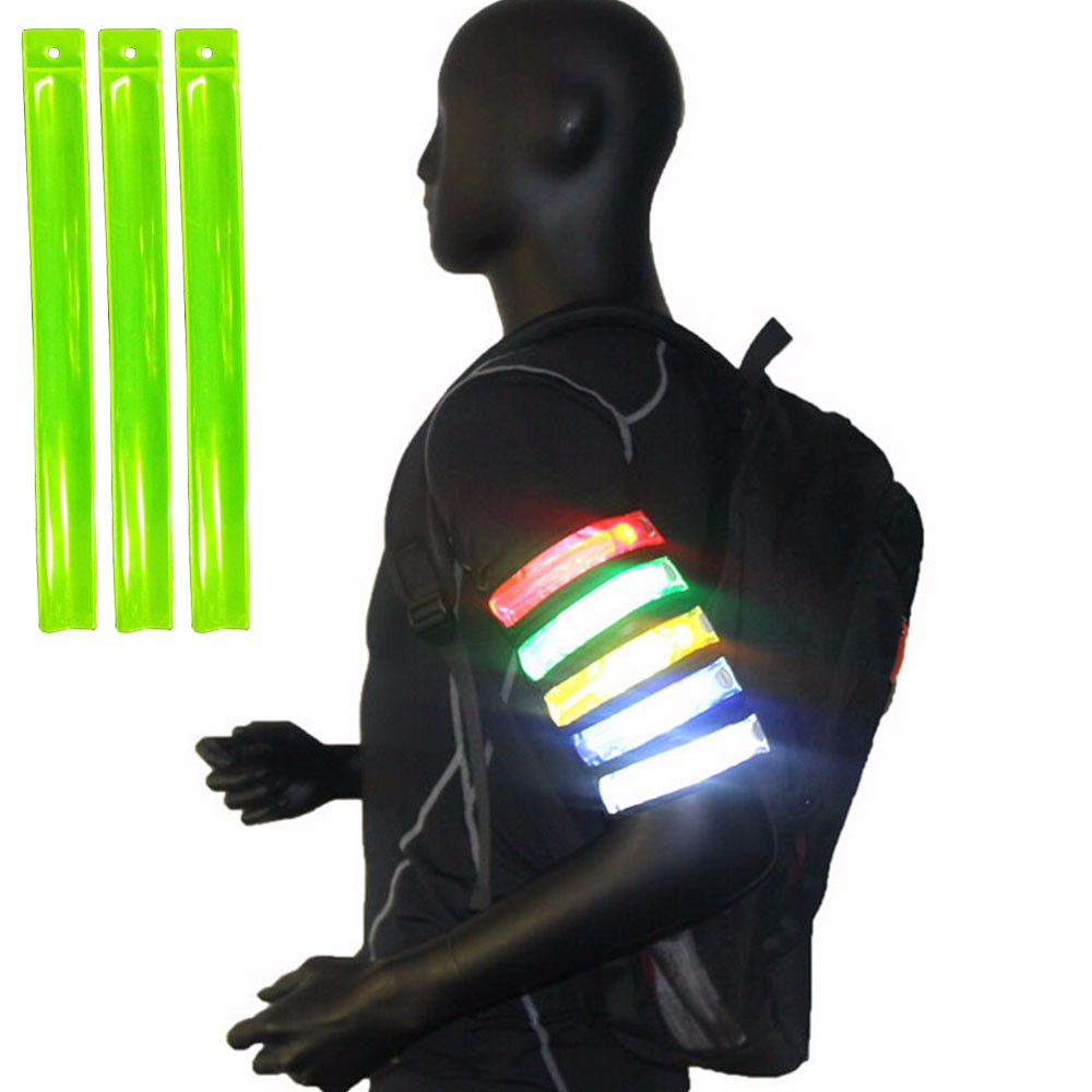 Simple Style Running Sports Reflective Snap Band
