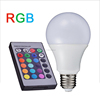 certificate approved wifi e27 remote control 16 color rgb led bulb light