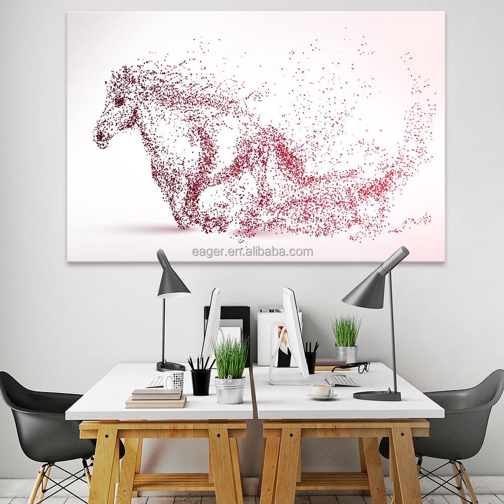 Customized Abstract HD Prints Wall Art Canvas Animal Picture