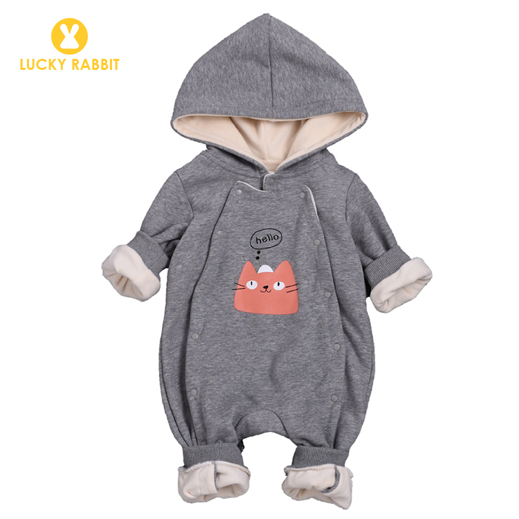 Bodysuits Lower Price with Newborn Baby Girl Jumpsuit Bodysuit Cartoon Long Sleeve Rabbit Print Cotton Clothes Outfits Popular Demand Exceeding Supply Bodysuits & One-pieces
