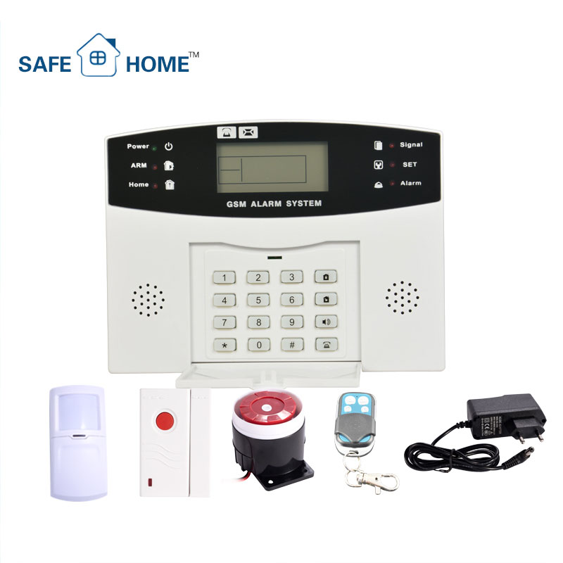 Multi-Language Home Anti-theft Smart Home Automation GSM SMS Alarm System