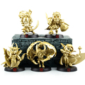 5pcs lot Dota 2 figurines hero toy Ynrnero Jugg 2016 New Gold limited edition Dota 2