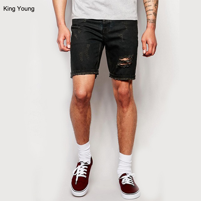 ripped shorts mens