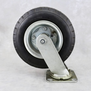SS Wholesale 12 Inch Pneumatic Caster Wheels Swivel Air Filled Caster