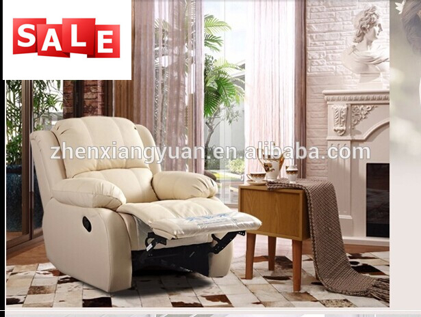 Living Room Furniture Lazy Boy Glider Rocking Sofa Suede Leather