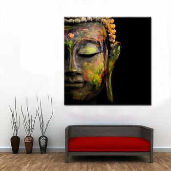 Mur Photos Pour Salon Moderne Bouddha 1 Panneau Toile Impression Peinture D Art Decoratif Tableau Decoration Murale Buy Photo Murale Pour Chambre A