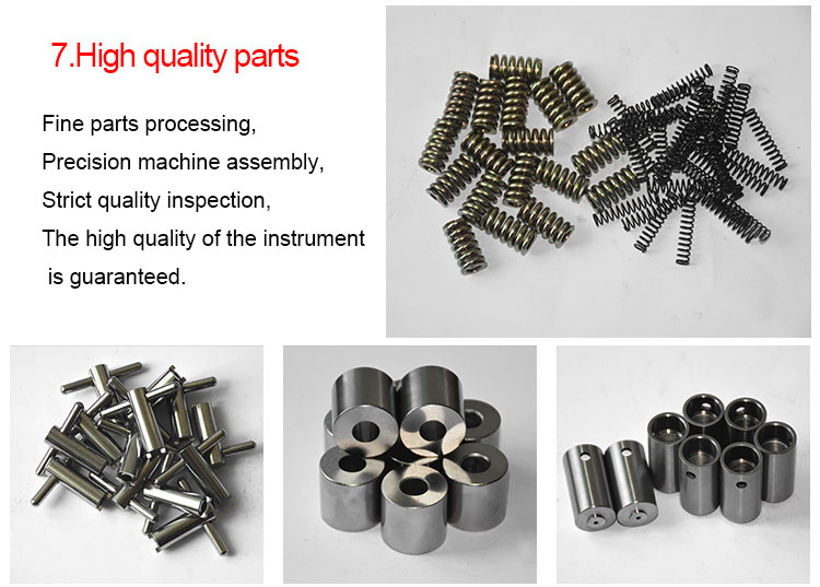 최고의 품질 고효율 205x80x23mm 차원 휴대용 웹스터 합금 알루미늄 경도 시험기