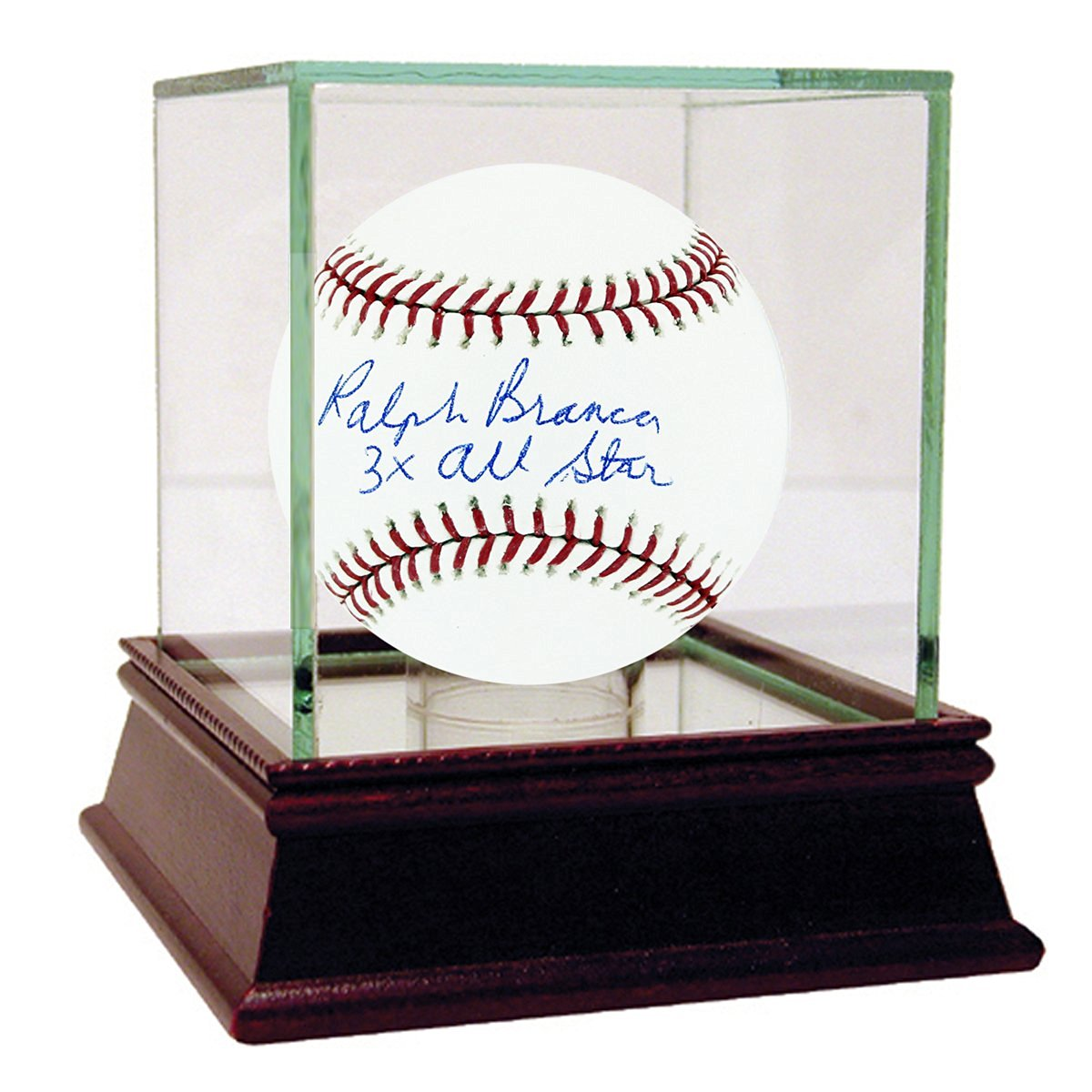 MLB Brooklyn Dodgers Ralph Branca Signed Baseball with 3x All Star Inscribed