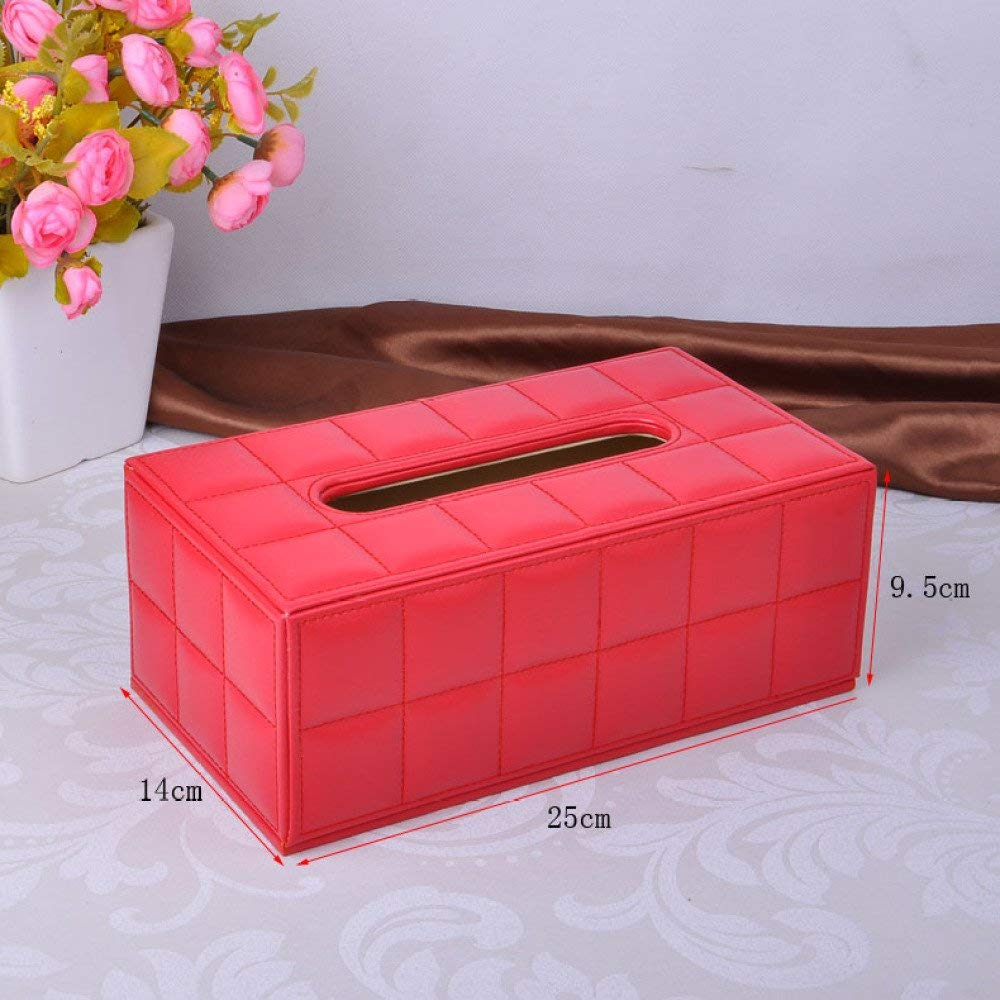DHG Creative Tissue Box, Home Book Box, Living Room Napkin Carton, Car Continental Tissue Box