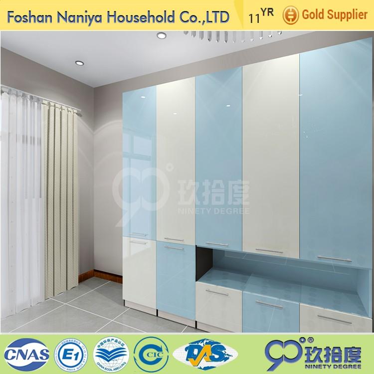Foshan Fábrica de la venta directa de doble color armario muebles de ...