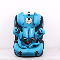 Comfortable Children Car Seat with Bear Design for Group123