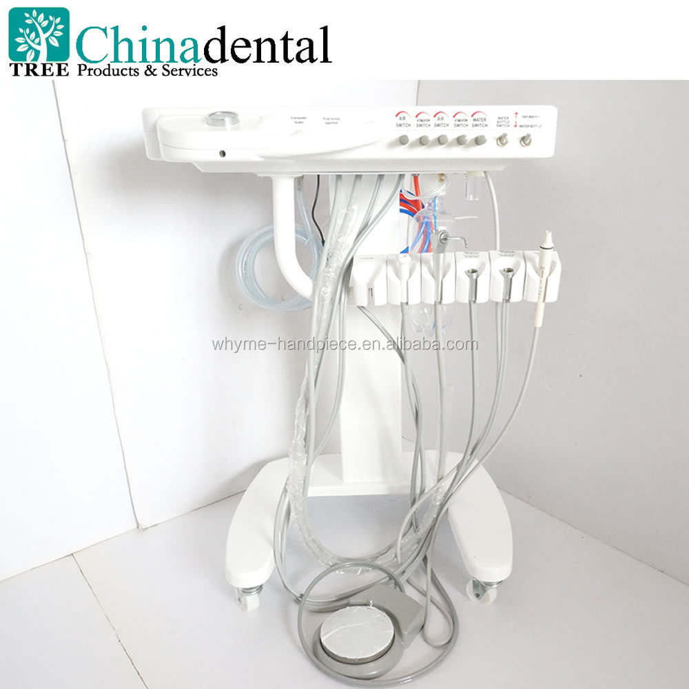 Medical portable dental delivery unit Works directly with the air compressor