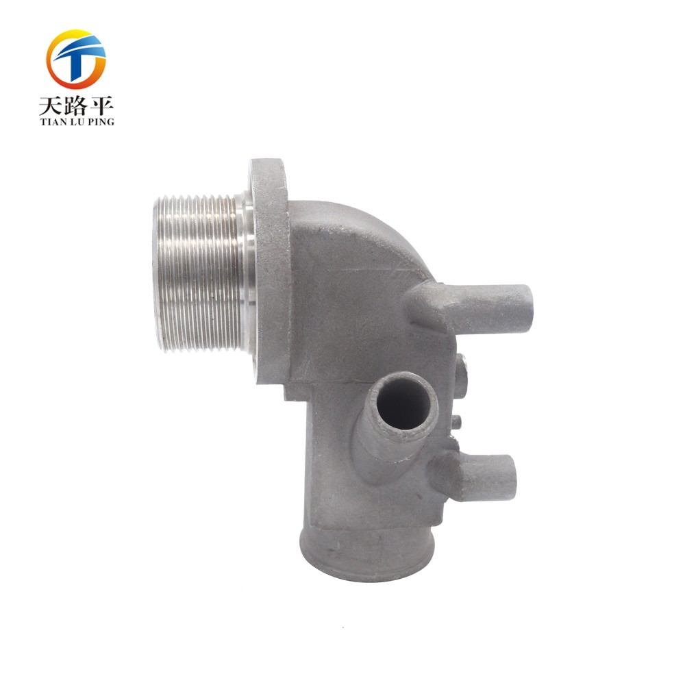 Custom CNC Stainless Steel 5 way hydraulic valve Parts