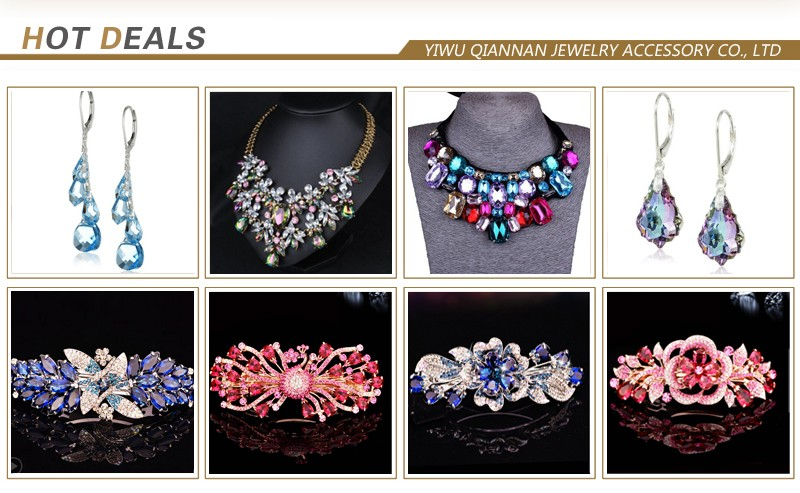 pujiang manufacturer wholesale jewelry accessory crystal drop tensha beads