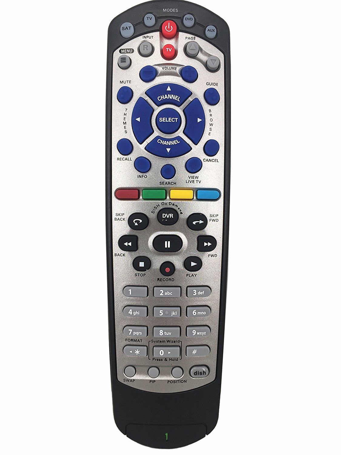 Get Quotations · Meide Replacement Remote Controller For DISH 20.1 Dish- Network IR Satellite Receiver TV1 DVR Learning
