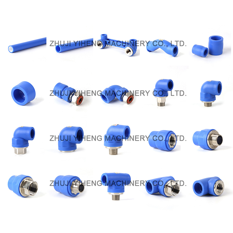 plastic pvc male thread pipe water pipe for plumbing system