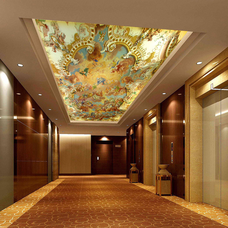 3d ceiling murals bing images