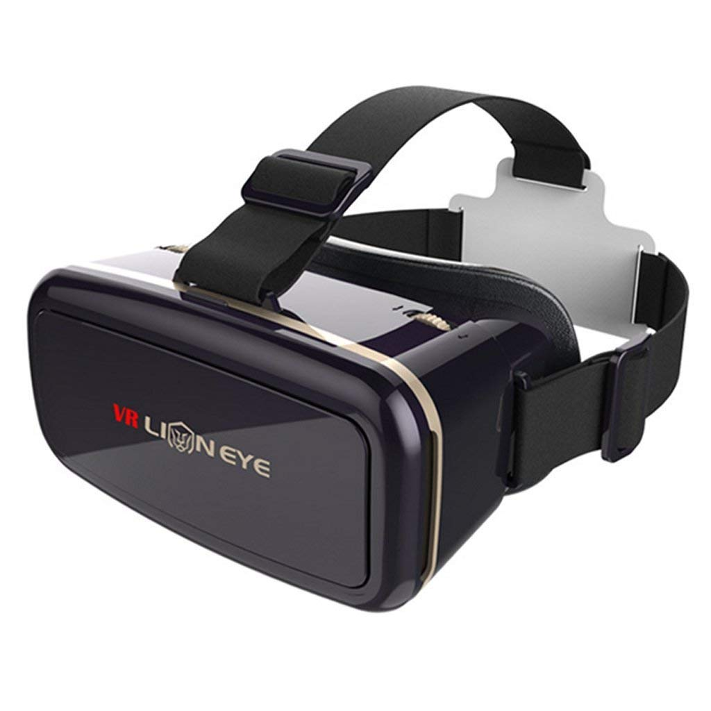 Austrake 3D VR Virtual Reality Headset 3D Glasses Mobile Phone 3D Movies and Games for VR Games & 3D Movies, Eye Care System for iPhone and Android Smartphones