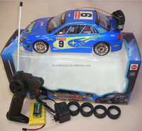 Fast Drift Champion R/C Sports Car Remote Control 4WD Drifting Race Car 1:16 + Lights and 2 Sets of wheel
