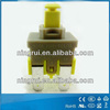 4 pins illuminated mini push button switch 12mm for vacuum cleaner
