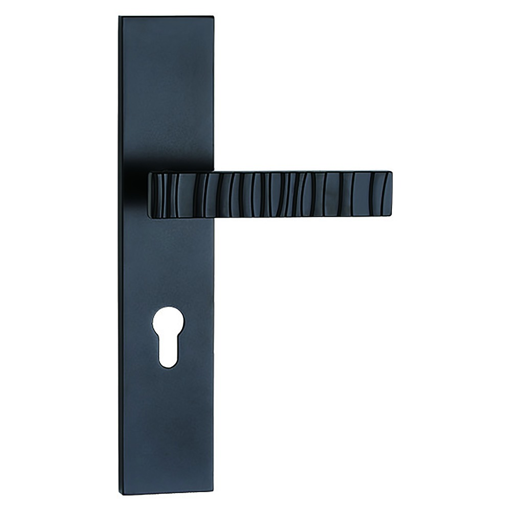 black Quality lever door handle on plate from China