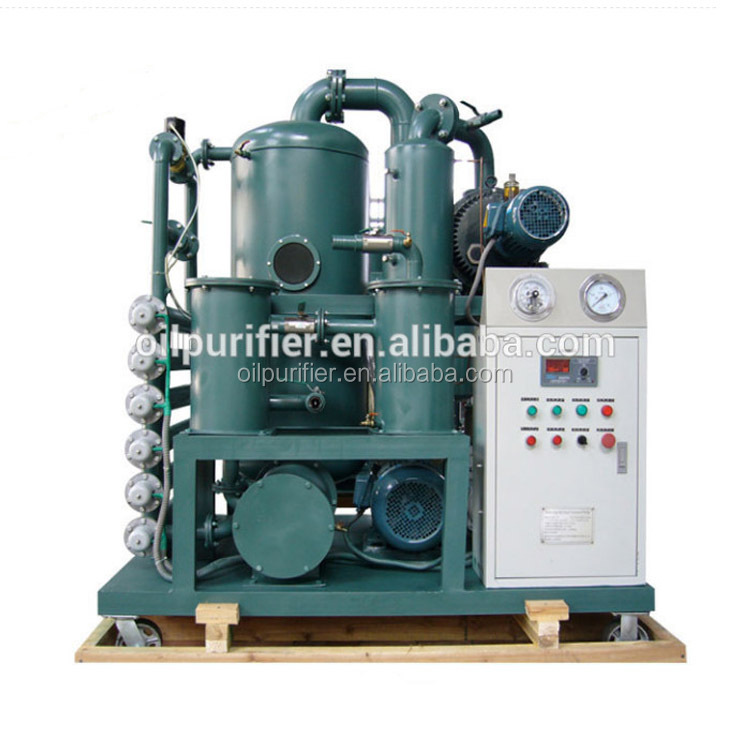 ZYD Double Stage Vacuum Transformer Oil Purifier/Insulation Oil Filtration Machine