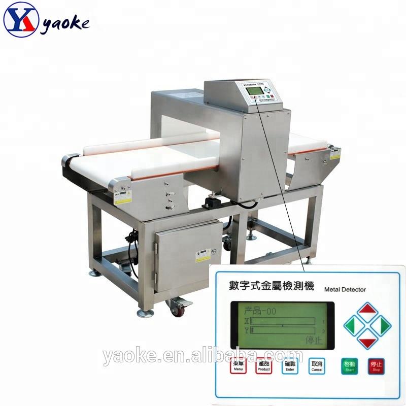High Sensitivity Metal Detector Machine For Food / Meat ...