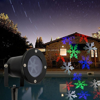 LED walmart christmas projector lights outdoor projector with 12 colorful slide