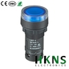 Flat blue illuminated push button switch CE CQC RoHS (Replace Omron XB7)