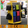 Fashion retail store computer bags slatwall display shelf/wooden luggage shop display stands