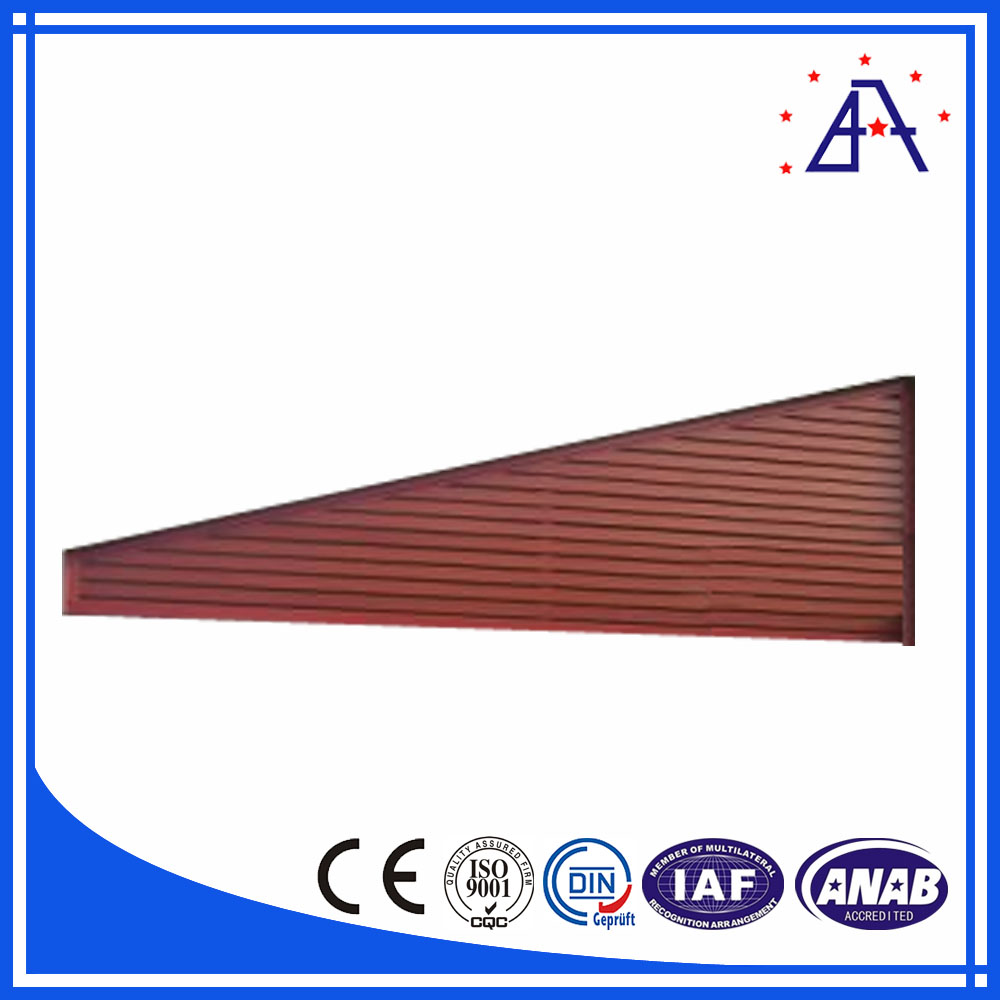 Low Price Fashionable Sun Shade Aluminium Louvers Fence