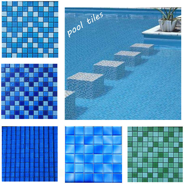 50x50 Swimming Pool Mosaics Glass Mosaic Swimming Pool