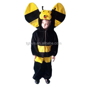 Infant school Kids plush animal bees costume cloth