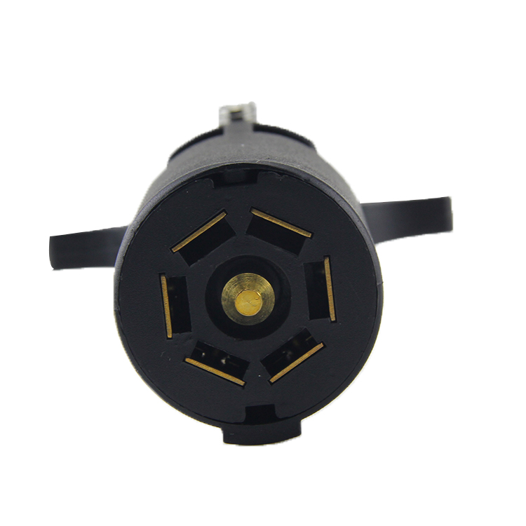 12v Round Plastic 7pin Trailer Connector 7way Trailer
