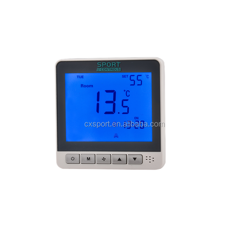 Thermostat d'ambiance LCD Modbus ST2020 485