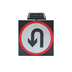 Led Placard Warning Solar Slow Traffic Sign