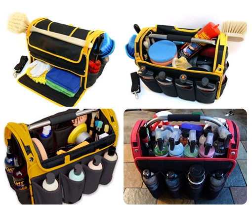 Logo Printed Strong 600d High Capacity Car Detailing Polisher Tool Bag