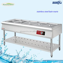 5GN Pans Table Counter Hot Food Warmer Bain Marie/Electric Bain Marie Restaurant Equipment Soup Server Factory