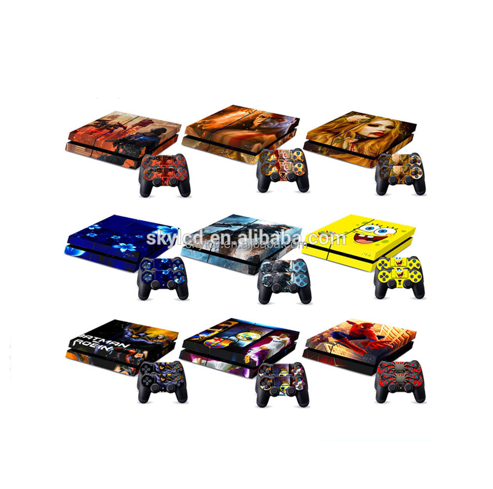 Customized Design Factory Price Console Skin for PS4