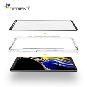 3D Big Curved edge case friendly Mobile phone tempered glass screen protector for samsung S8 S9 S10 Note 8 Note 9