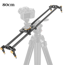80cm Carbon Fiber 6 Bearings DSLR Camera DV Slider Track Video Stabilizer Rail Dolly for Video DSLR Camcorder