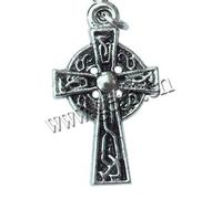 Gets.com zinc alloy inverted cross necklace