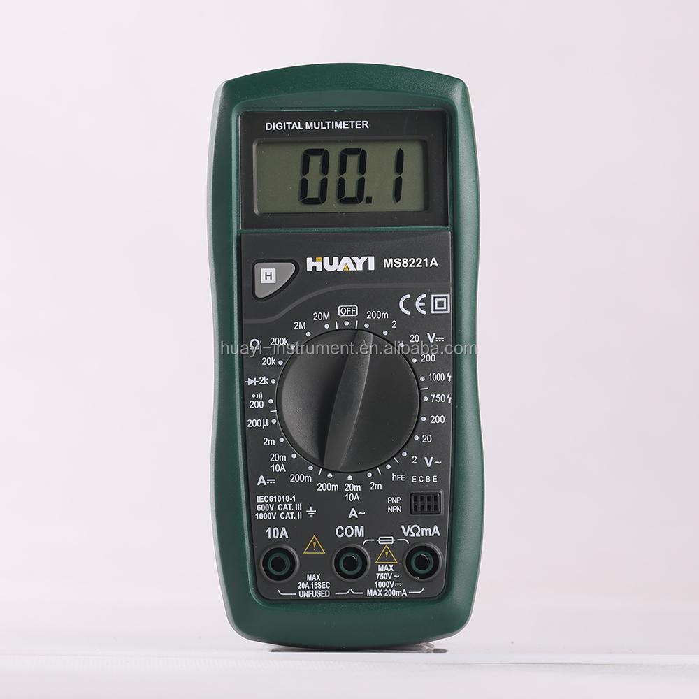 Pocket Tester Digital Meter Similar To Digital Multimeter Dt9208a ...