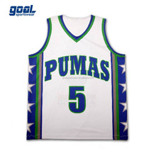 Sublimation sport wear custom logo basketball uniform wholesale