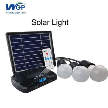 Mini Portable Solar Ed Led Light Kits System For Home Lighting Kit Irrigation