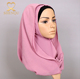 Flower Crinkle Hijab Chiffon China Wholesale Muslim Headscarf Long Arab Hijab