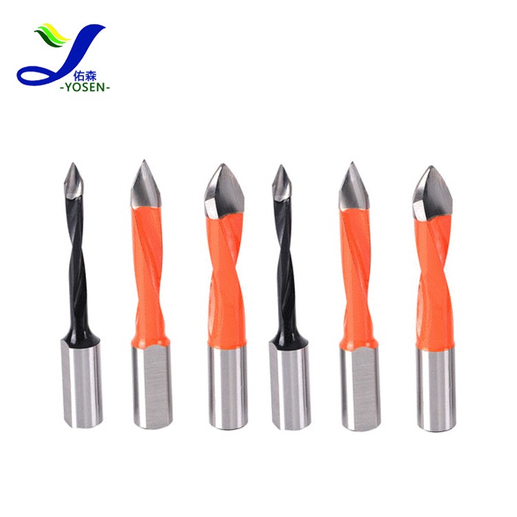 tungsten carbide woodturning inserts twist drill bit for automatic drilling machine