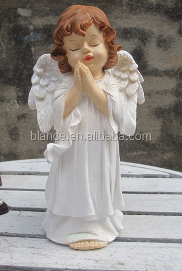 resin praying angel statue/figure